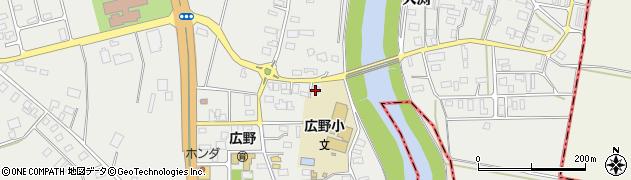 山形県酒田市広野中通100周辺の地図