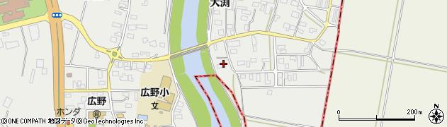 山形県酒田市広野大渕46周辺の地図