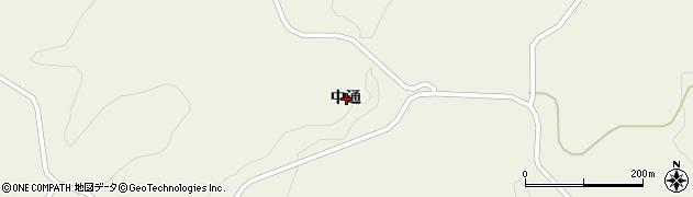 岩手県一関市花泉町日形中通周辺の地図