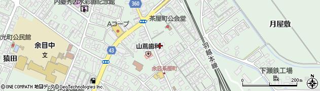 山形県東田川郡庄内町余目沢田165周辺の地図