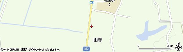 山形県酒田市山寺宅地148周辺の地図