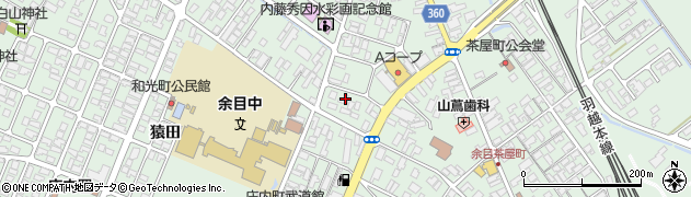 山形県東田川郡庄内町余目三人谷地201周辺の地図