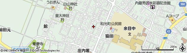 山形県東田川郡庄内町余目猿田70周辺の地図
