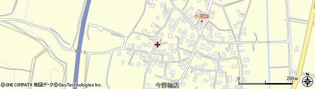 山形県酒田市黒森村中92周辺の地図