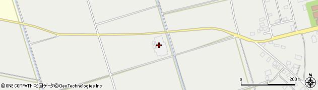 山形県酒田市広野林周辺の地図