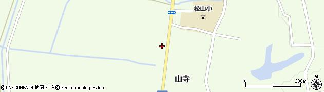 山形県酒田市山寺宅地153周辺の地図