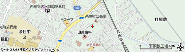 山形県東田川郡庄内町余目沢田167周辺の地図