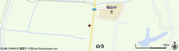 山形県酒田市山寺宅地154周辺の地図