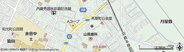 山形県東田川郡庄内町余目町3周辺の地図