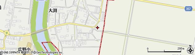 山形県酒田市広野大渕26周辺の地図