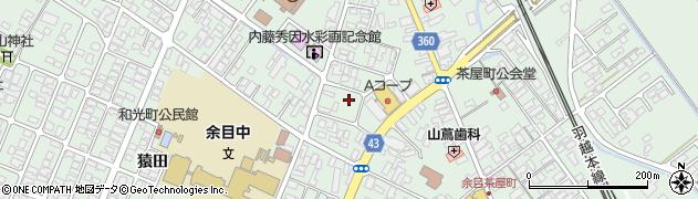 山形県東田川郡庄内町余目三人谷地186周辺の地図