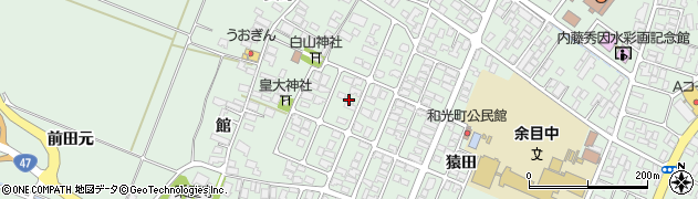 山形県東田川郡庄内町余目猿田20周辺の地図