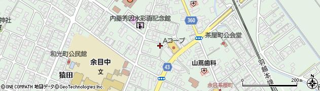 山形県東田川郡庄内町余目三人谷地185周辺の地図