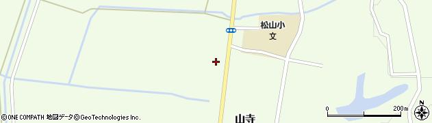 山形県酒田市山寺宅地157周辺の地図