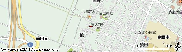 山形県東田川郡庄内町余目館49周辺の地図