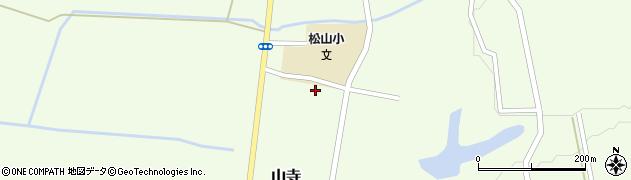 山形県酒田市山寺宅地159周辺の地図