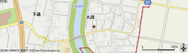 山形県酒田市広野大渕121周辺の地図