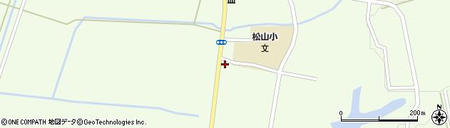 山形県酒田市山寺宅地160周辺の地図