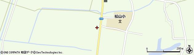 山形県酒田市山寺宅地161周辺の地図
