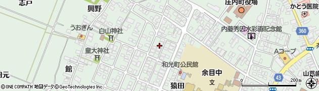 山形県東田川郡庄内町余目猿田23周辺の地図