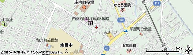 山形県東田川郡庄内町余目三人谷地181周辺の地図