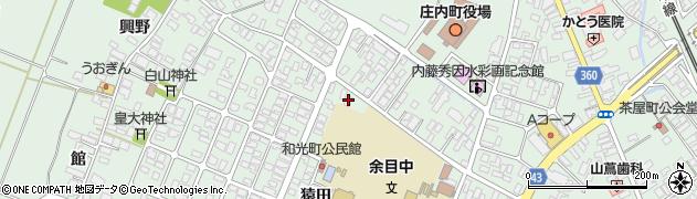 山形県東田川郡庄内町余目猿田13周辺の地図