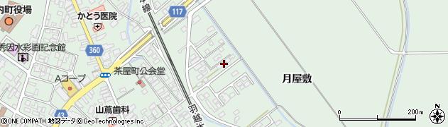 山形県東田川郡庄内町余目月屋敷177周辺の地図