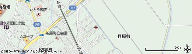 山形県東田川郡庄内町余目月屋敷178周辺の地図