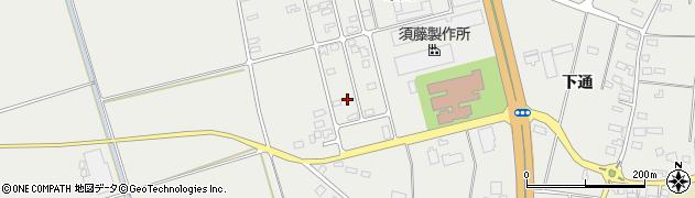 山形県酒田市広野末広95周辺の地図