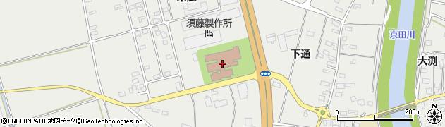山形県酒田市広野末広102周辺の地図