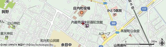 山形県東田川郡庄内町余目三人谷地59周辺の地図