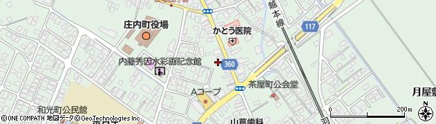 山形県東田川郡庄内町余目町12周辺の地図