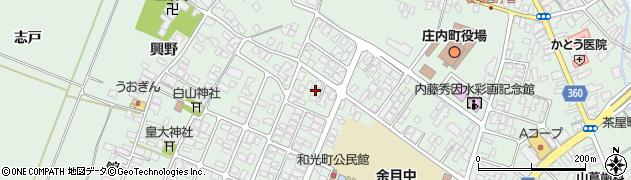 山形県東田川郡庄内町余目猿田17周辺の地図