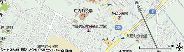 山形県東田川郡庄内町余目三人谷地112周辺の地図