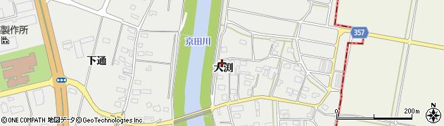 山形県酒田市広野大渕125周辺の地図