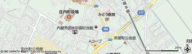 山形県東田川郡庄内町余目町16周辺の地図