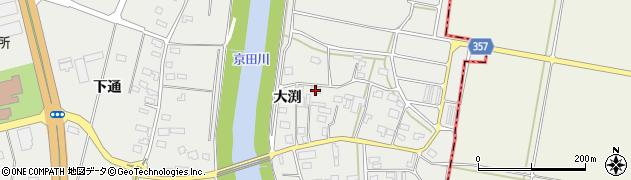 山形県酒田市広野大渕117周辺の地図