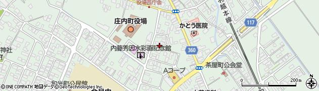 山形県東田川郡庄内町余目三人谷地147周辺の地図