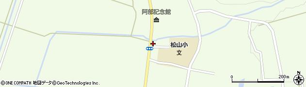 山形県酒田市山寺宅地165周辺の地図