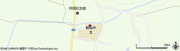 山形県酒田市山寺見初沢157周辺の地図