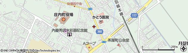 山形県東田川郡庄内町余目町13周辺の地図