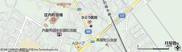 山形県東田川郡庄内町余目町11周辺の地図
