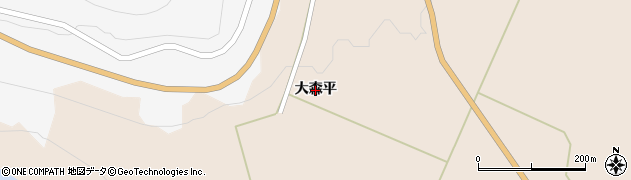 宮城県大崎市鳴子温泉鬼首(大森平)周辺の地図