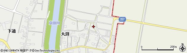 山形県酒田市広野大渕87周辺の地図