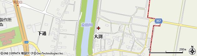 山形県酒田市広野大渕142周辺の地図