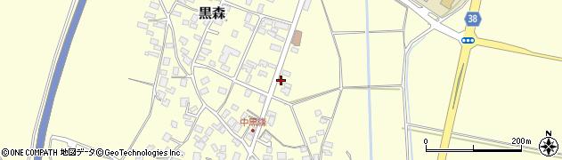 山形県酒田市黒森草刈谷地45周辺の地図