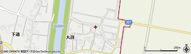 山形県酒田市広野大渕92周辺の地図