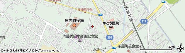 山形県東田川郡庄内町余目町121周辺の地図