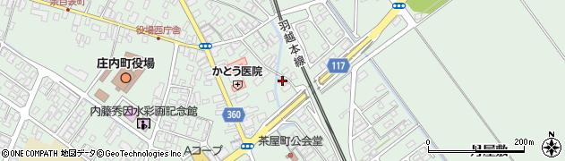 山形県東田川郡庄内町余目月屋敷270周辺の地図