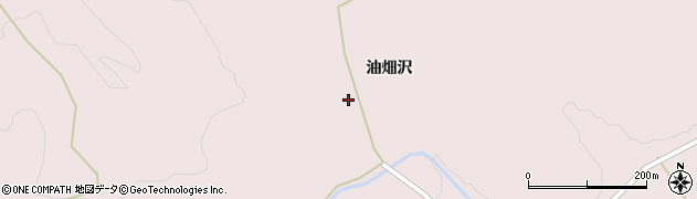 宮城県栗原市栗駒鳥沢油畑沢88周辺の地図